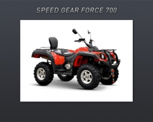 Speed Gear Force 700 EFI 2014